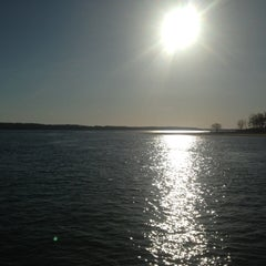 Photo taken at Shelter Island South Ferry - Shelter Island Terminal by Martha R. on 4/18/2013