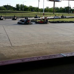 Photo taken at Rockwood Go-Karts by Tonya C. on 5/18/2014