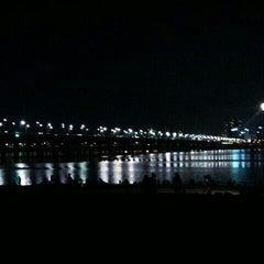 Photo taken at 여의도 한강공원 (Yeouido Hangang Park) by Myeonghwa J. on 9/17/2013