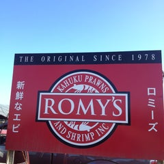 Photo taken at Romy's Kahuku Prawns & Shrimp Hut by iKon on 12/29/2012