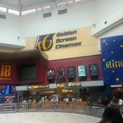 Photo taken at Golden Screen Cinemas (GSC) by Zahari M. on 5/26/2013
