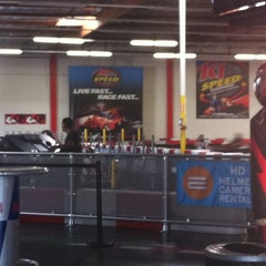 Photo taken at K1 Speed by Sophia H. on 8/19/2012