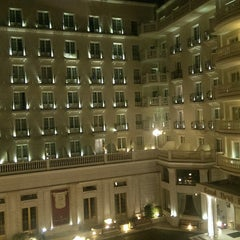Photo taken at Grand Hotel Palace by Tuğrul G. on 11/1/2014
