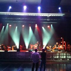 Photo taken at Teatro Riachuelo by Marcio S. on 12/19/2012