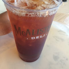 Photo taken at McAlister's Deli by Chris A. on 3/20/2014