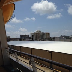 Photo taken at Galveston Cruise Terminal #2 by Josh I. on 6/1/2014