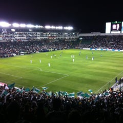 Photo taken at Estadio León by Carlos R. on 3/3/2013