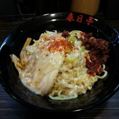 Photo taken at 油そば 春日亭 渋谷店 by Naoki K. on 3/14/2013
