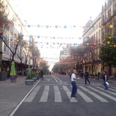 Photo taken at Av. 20 De Noviembre by Danny K. on 2/9/2015