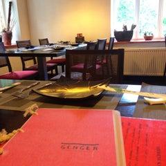 Photo taken at GINGER | ķīniešu virtuve, suši bārs by Liza D. on 8/24/2014