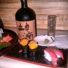 Photo taken at Sushi Bar Hime by RyanK on 9/19/2012