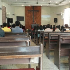 Photo taken at National Evangelical Church Kuwait by Raymund M. on 10/9/2015