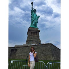 Photo taken at Battery Park City by Masha U. on 7/1/2015