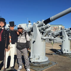 Photo taken at USS Cassin Young by Dan P. on 10/27/2014