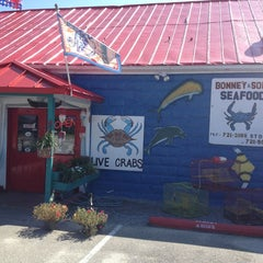 Photo taken at Bonney & Sons Seafood and Produce by Stacee R. on 9/1/2013