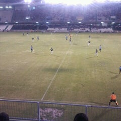 Photo taken at Estadio Municipal Castalia by Daniel P. on 8/24/2013