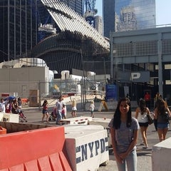Photo taken at World Trade Center Construction Security by Angela M. on 9/12/2014