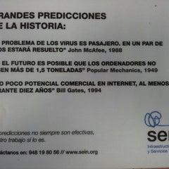 Photo taken at Club de Marketing de Navarra by Oscar B. on 2/21/2013
