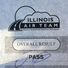 Photo taken at Illinois Air Team - Emissions Testing Station by lynn t. on 10/16/2015