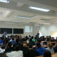 Photo taken at Universitatea din Craiova by Mihai G. on 10/22/2014