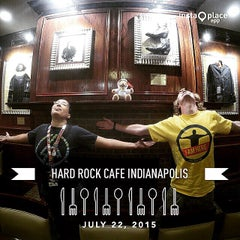 Photo taken at Hard Rock Cafe Indianapolis by Chris S. on 7/23/2015