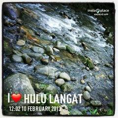 Photo taken at Sg. Congkak Waterfall by Kalai Mani G. on 2/10/2013