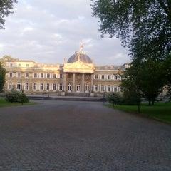 Photo taken at Koninklijk Paleis / Palais Royal by Emily L. on 5/3/2014