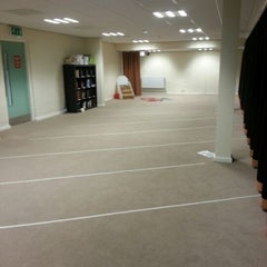 Photo taken at Muslim Prayer Room Liverpool Uni by Akmal Hanif M. on 12/28/2012