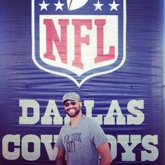Photo taken at Dallas Cowboys Training Camp by Joe Eddie R. on 8/6/2014