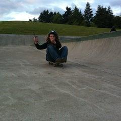 Photo taken at Gabriel Skate Park by Scott on 6/19/2012