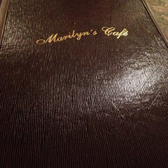 Photo taken at Marilyn's Café by Isabel A. on 5/1/2014