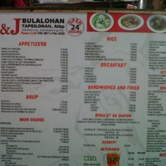 Photo taken at R&J Bulalohan by kerl f. on 4/2/2013