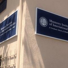 Photo taken at Monterey Institute of International Studies, Irvine Auditorium by Alan C. on 4/29/2012