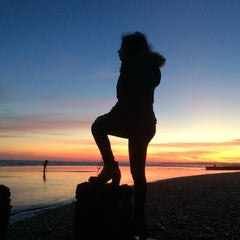 Photo taken at Hastings Pier by Parul Z. on 3/7/2015