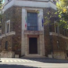 Photo taken at Ministero dello Sviluppo Economico by Chris E. on 8/11/2013