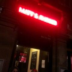 Photo taken at Matt & Phreds Jazz Club by Mike G. on 9/26/2012