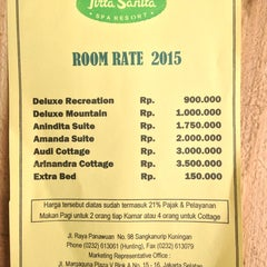 Photo taken at Hotel Tirta Sanita by Franses B. on 4/4/2015
