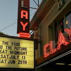 Photo taken at Clay Theatre by Artemy U. on 6/15/2013