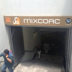 Photo taken at Metro Mixcoac (Líneas 7 y 12) by R@Y on 7/10/2013