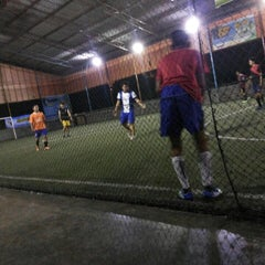 Photo taken at Hanggar Futsal by Frieza M. on 4/8/2014
