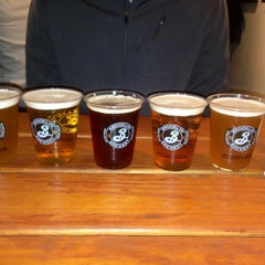 Photo taken at Brooklyn Brewery by Ami S. on 3/9/2013