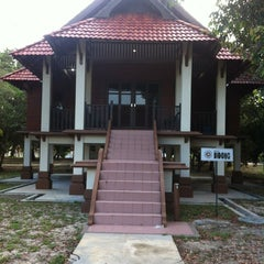 Photo taken at Kem Damai Resort by Naszrul A. on 5/31/2013