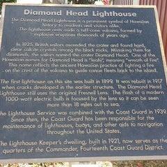 Photo taken at Diamond Head Lighthouse by Duck on 12/19/2014
