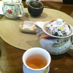 Photo taken at Radiance Tea House & Books by Nandita R. on 12/5/2012