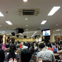 Photo taken at GBI Puri Indah by Claudia C. on 7/27/2014
