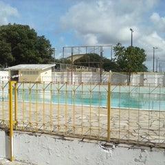 Photo taken at Vila Olímpica by Fábio S. on 8/4/2014