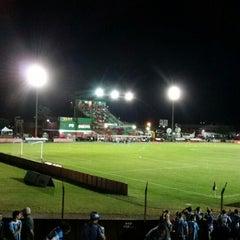Photo taken at Estádio Vermelhão da Serra by Julio Cesar S. on 2/18/2015