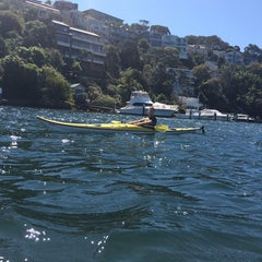 Photo taken at Sydney Kayak by Haley L. on 9/28/2014