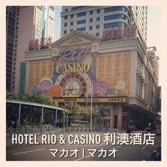 Photo taken at Rio Hotel & Casino 利澳酒店 by Yuta on 12/24/2012