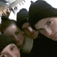 Photo taken at Talsu hokeja klubs (Talsi Ice Hockey club) by Oskars V. on 10/26/2014